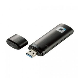 D-Link DWA‑182 Dual Band AC1200 Mbps Wi‑Fi USB Adapter