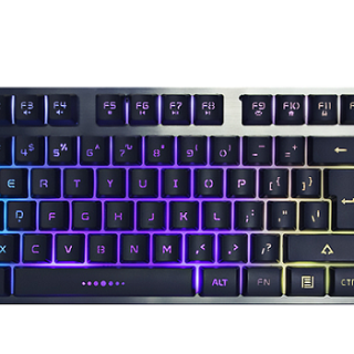 Fantech K613 (With Out Num Pad) Fighter TKL Gaming Keyboard Black