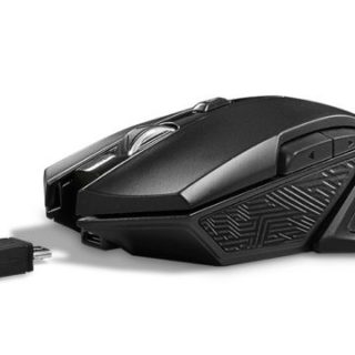 Fantech WGC1 Venom Rechargeable Wireless Gaming Mouse Black