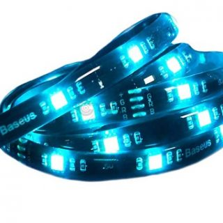 Baseus Cool Black USB Colorful Electronic Sports Game Light Strip 1-Best Strip of Electrovibe