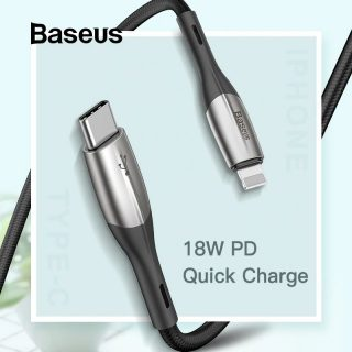 Baseus USB Type C to USB Charge Cable Support PD2.0 60W 20V 3A Quick Charge Cable - Best USB Cable of Electrovibe