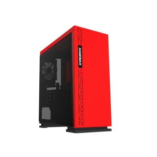 Gamemax H-605-WT Mid Tower Gaming Casing- Red : Best Casing of Electrovibe