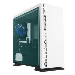 Gamemax H-605-WT Mid Tower Gaming Casing- White : Best CPU Casing of electrovibe